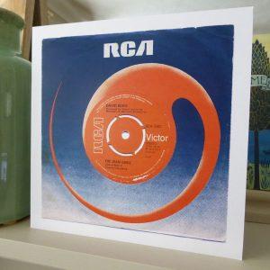 Bowie Premium Art Card