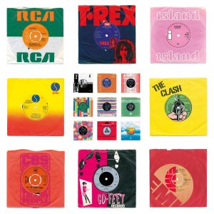 "Pop Art Prints Of Classic 7"" Vinyl Single Records from 45renegade.co.uk"