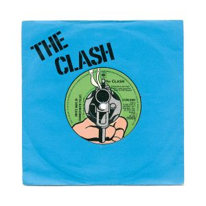 The Clash White Man In Hammersmith Palais Blue Sleeve