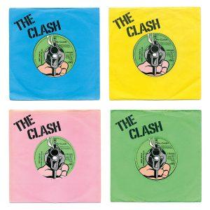 Four Colour The Clash White Man In Hammersmith Palais