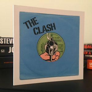 The Clash White Man In Hammersmith Palais Blue Art Card