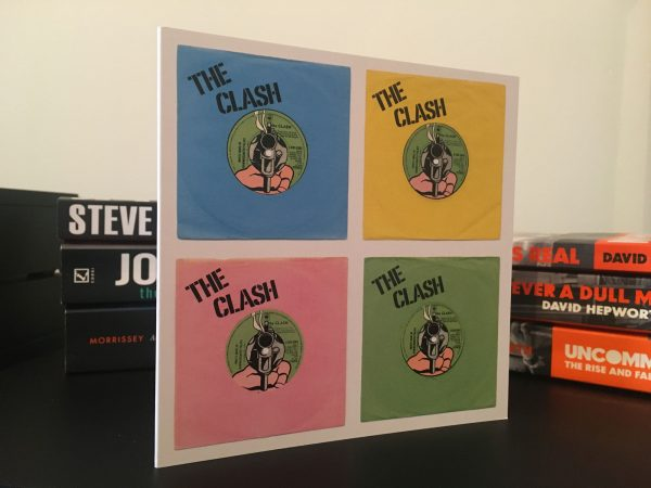 The Clash White Man In Hammersmith Palais Four Up Pop Art Card